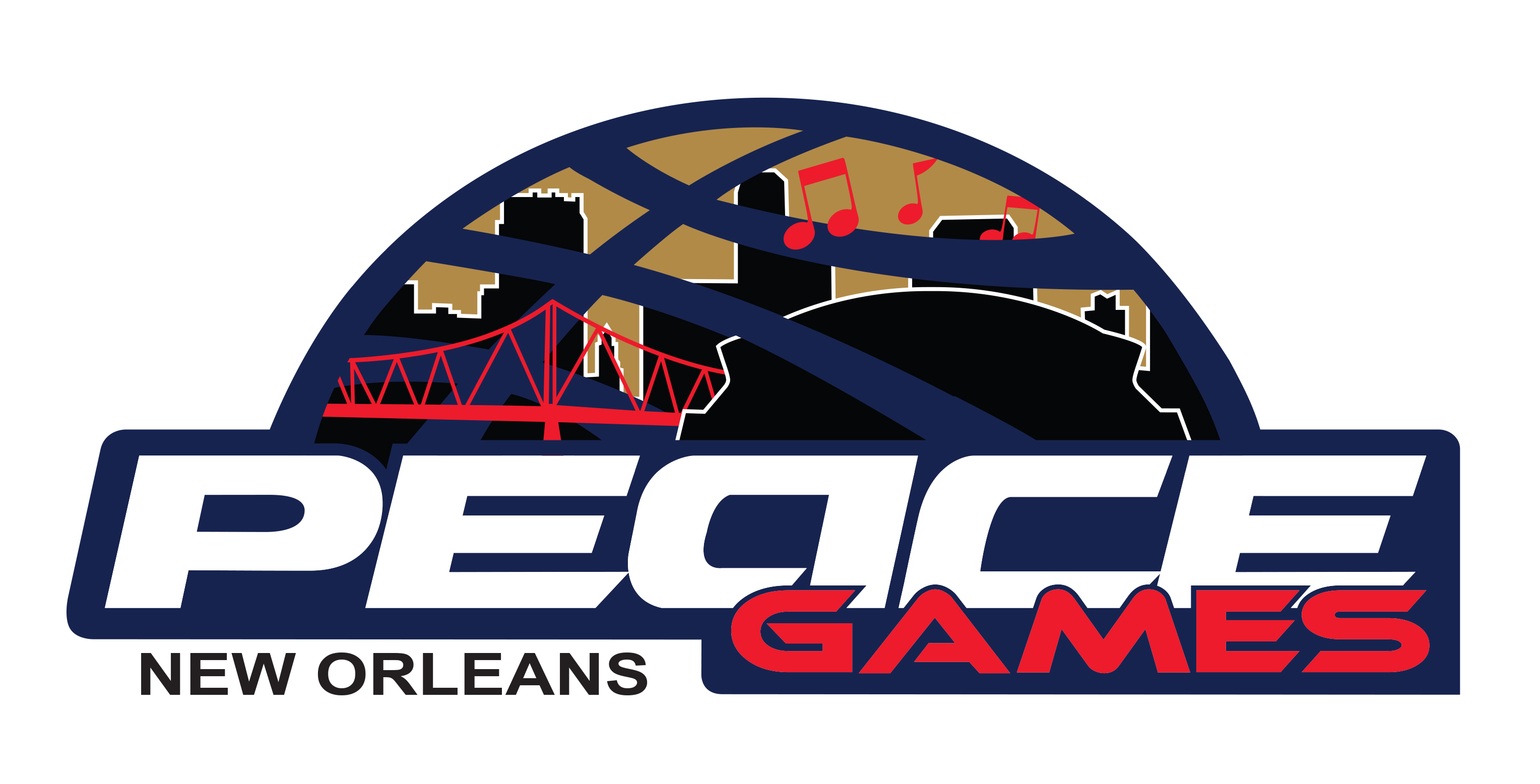 2014 NOLA Peace Games Logo