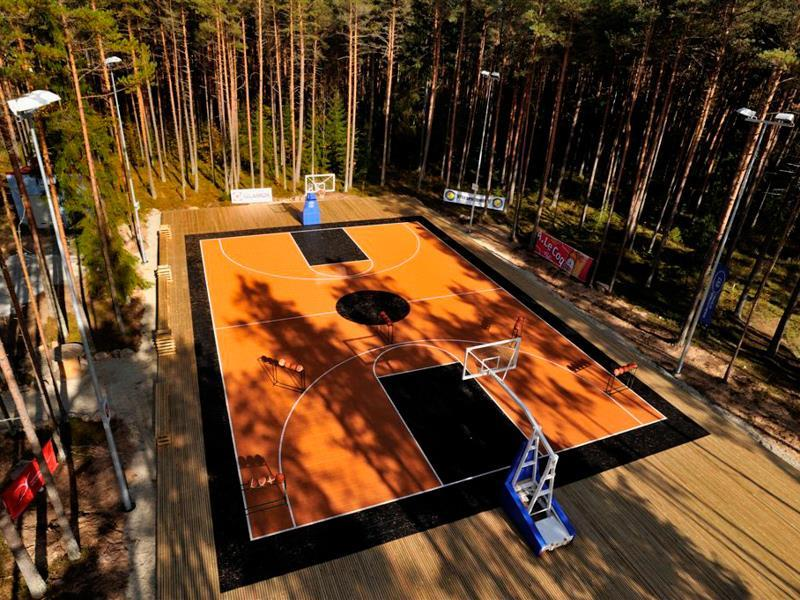 Basketball Outdoor-court Facility Sport Hotel-Resort Outdoor