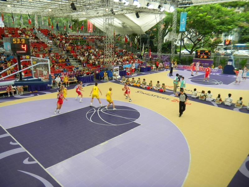 Outdoor-court Basketball Facility Outdoor Event