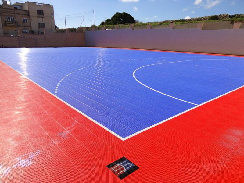 Outdoor-court Futsal Facility Sport Outdoor Parks-Rec
