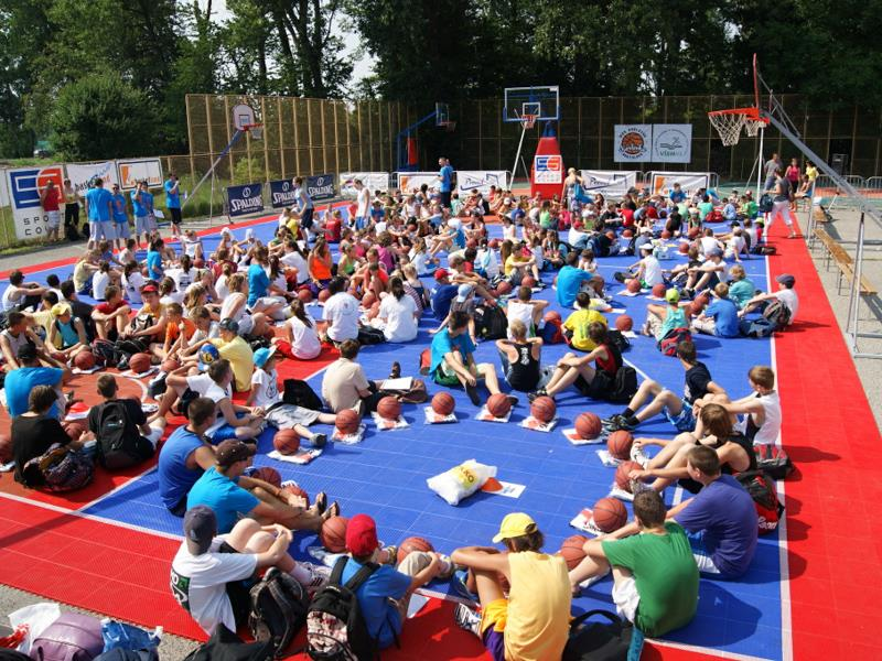 Custom-court Outdoor-court Facility Basketball Sport Outdoor Community-Centers