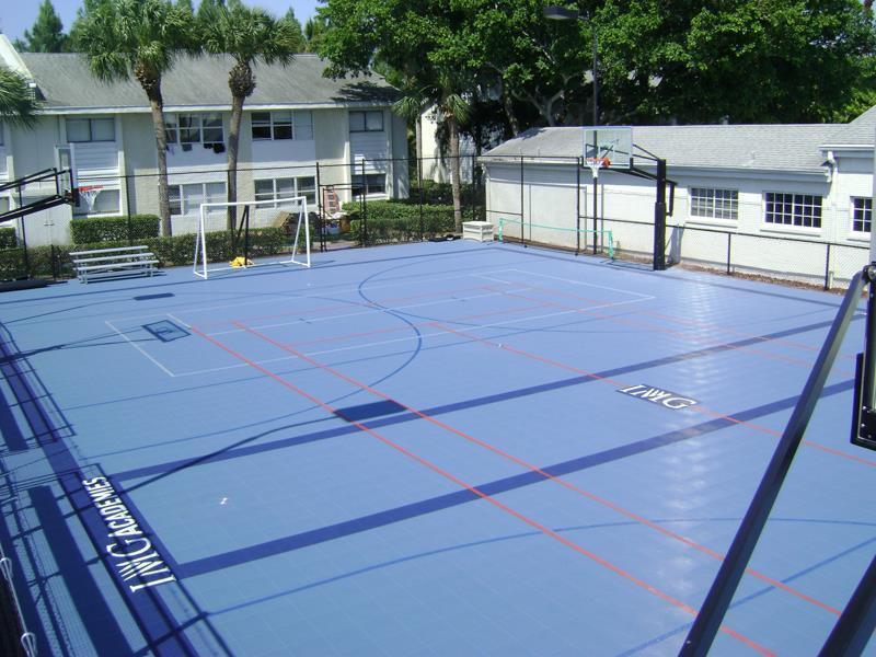 Multi-Sport Flooring Builder
