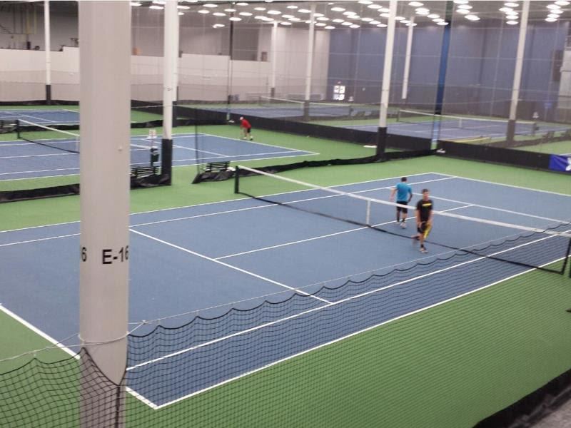 Tennis Facility Gymnasium Sport Indoor Sports-Clubs Indoor