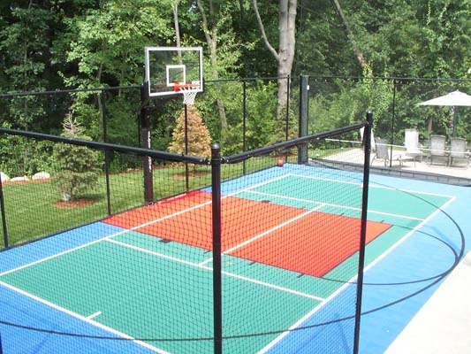 Basketball Family Backyard-court Accessories Sport Custom-court Outdoor