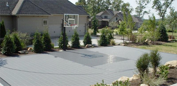 Home Basketball Court & Hoop by Sport Court West in Utah
