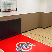 Custom Logo and Colors with Maple Select by Sport Court