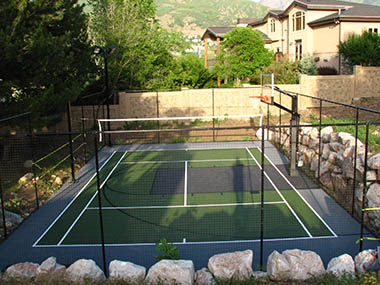 Outdoor Multi-use Court Builders