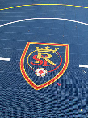 Real Salt Lake Basketball Court