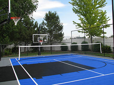 Basketball / Tennis Court Builder and Accessories