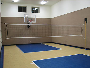 Home Indoor Multi-use Court Builders