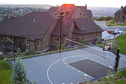 Photo Gallery Sport Court Basketball Courts Flooring Gym Floors Home Putting Greens West
