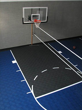Indoor Home Gym Basketball Facility Builder