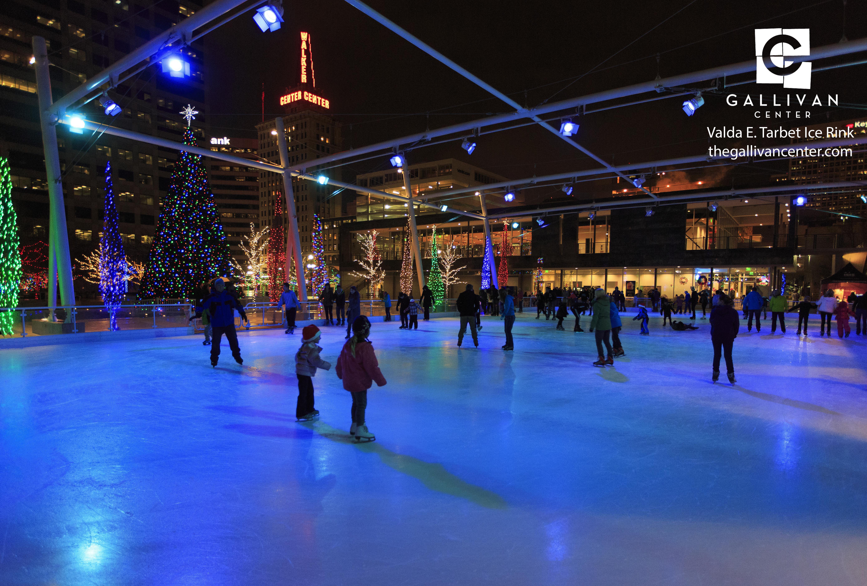 Ice Skating Gallivan Center