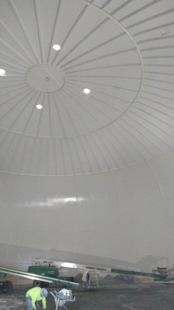 Interior Painting of Water Tank