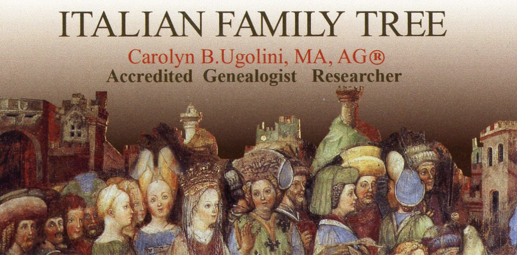 Italian Family Tree, Carolyn B. Ugolini