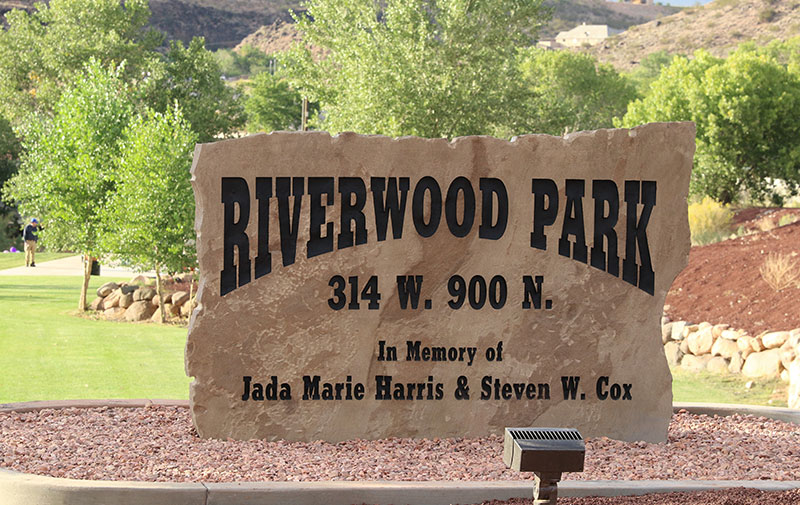 Riverwood Park Dedication