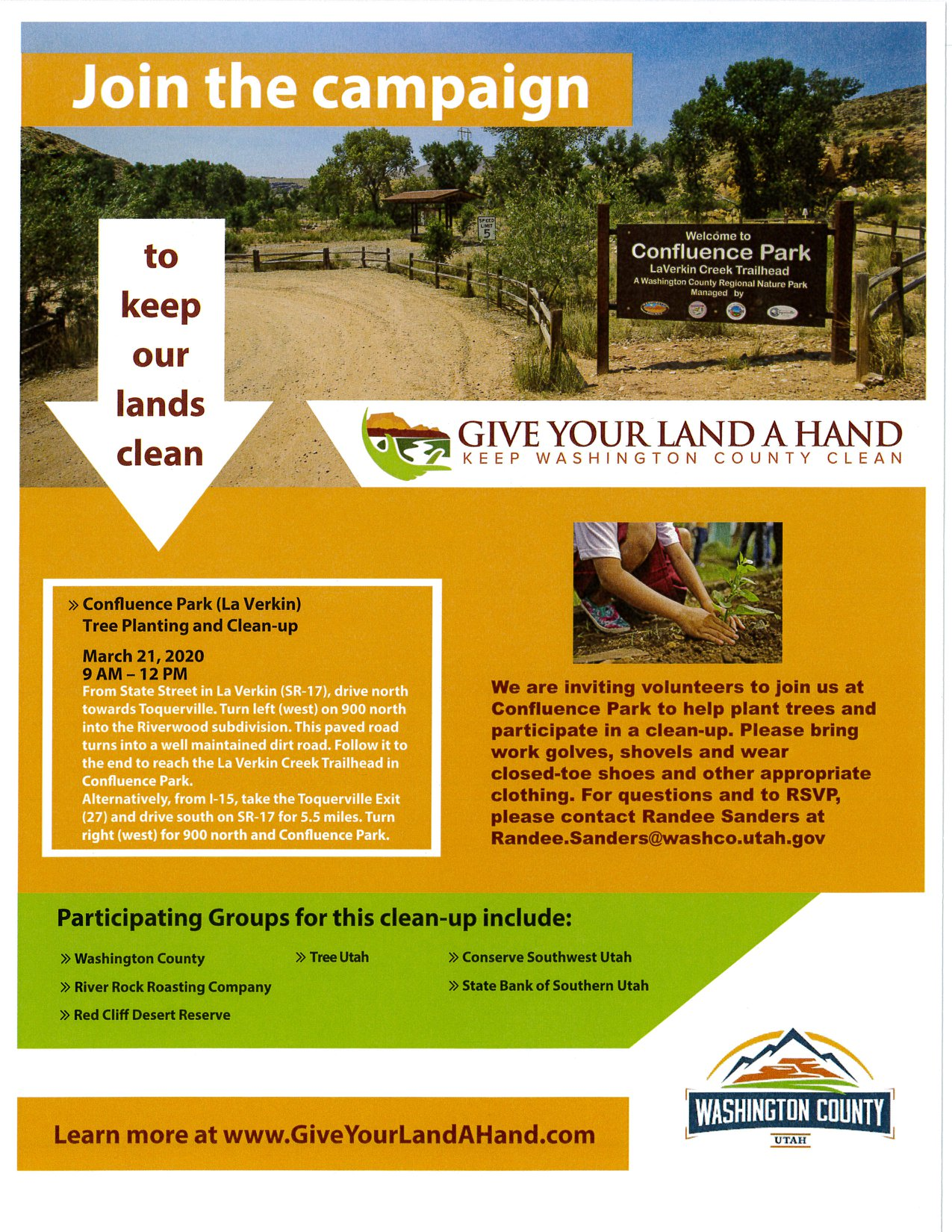 Give Your Land a Hand 3-21-20