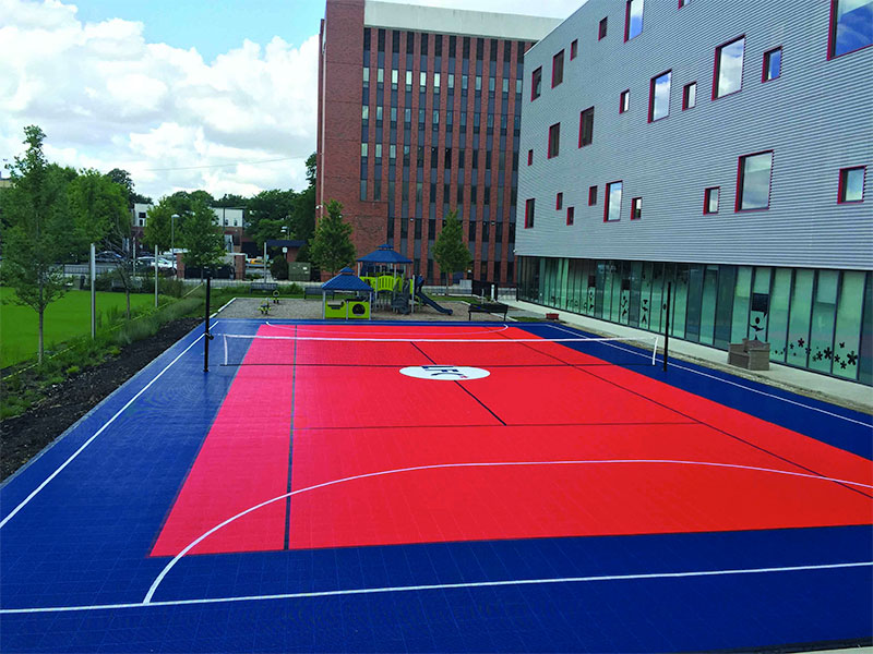 Community Court Built by Sport Court