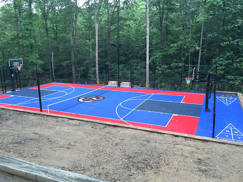 Backyard Multi-Sport Court by Sport Court