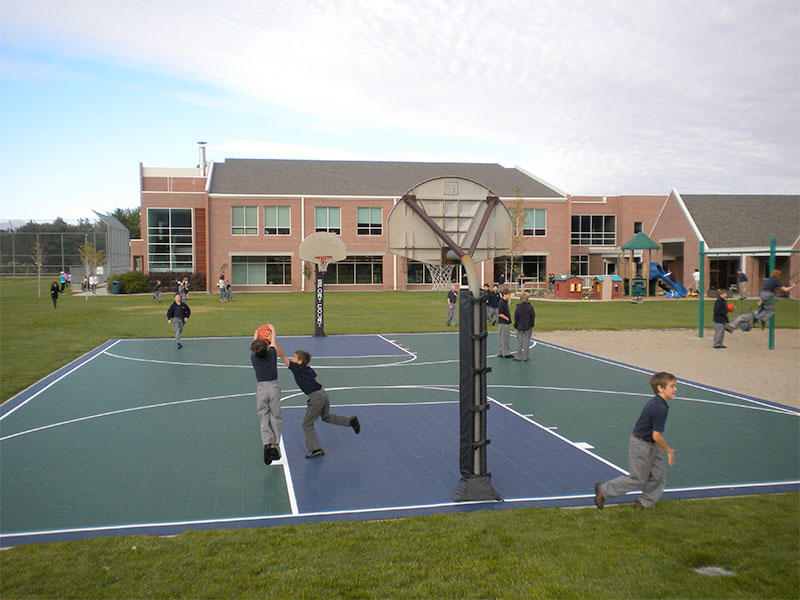 Waterford School Basketball Court by Sport Court