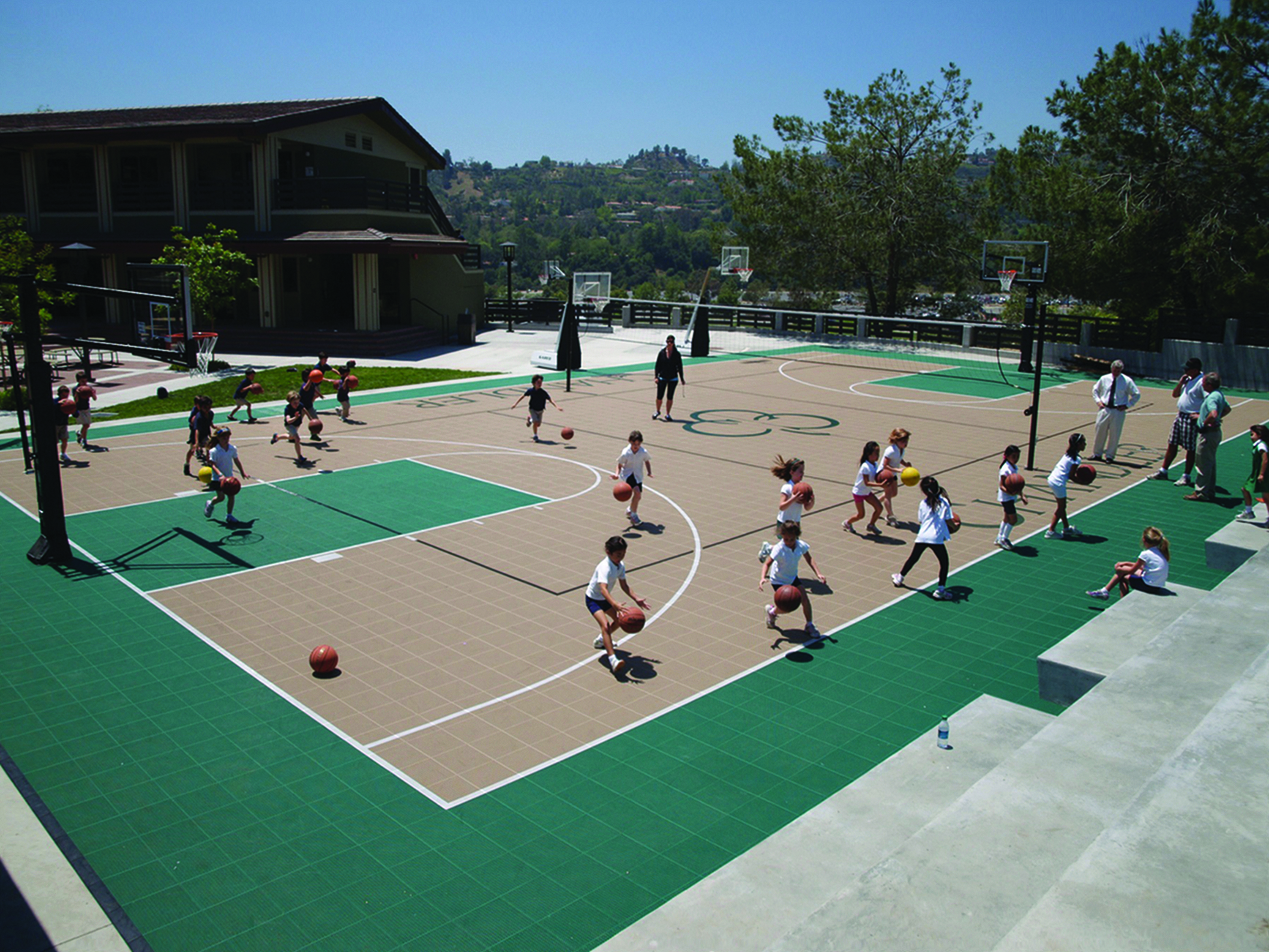 Multi-Sport Court - Basketball