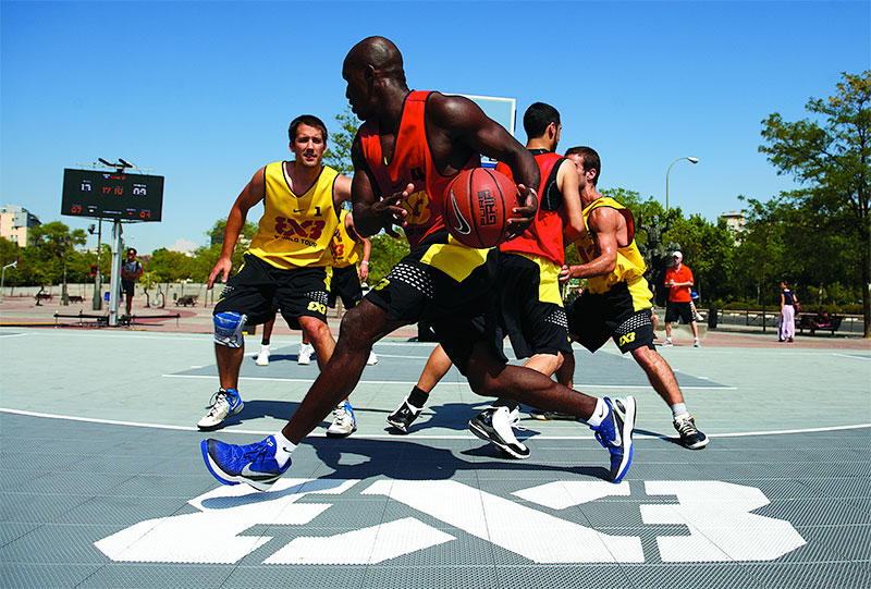 FIBA 3x3 Basketball Court by Sport Court