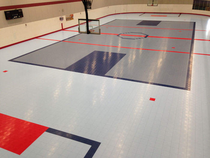 Commercial Roller-Sports Rink