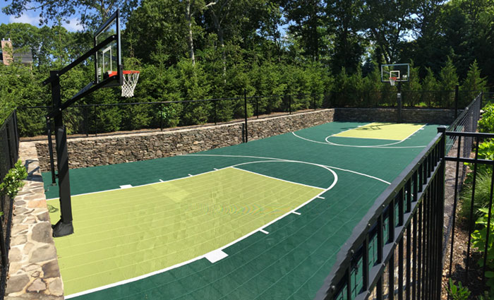Sunken Backyard Court