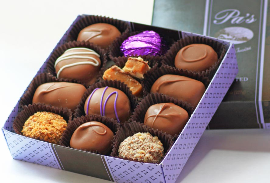 Assorted Chocolate-1/2 Pound Box
