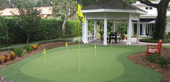 Florida Home Putting Greens