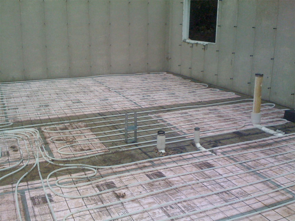 Sub-Rough Radiant Heating
