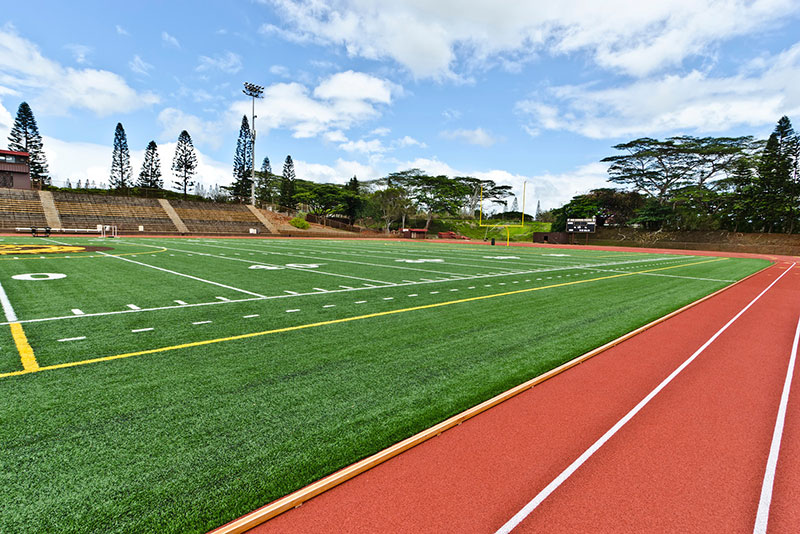 Mililani High School - Synthetic Turf & Track