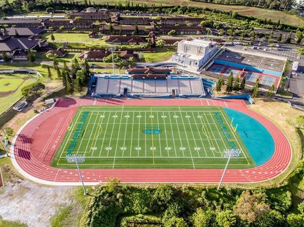 King Kekaulike High School Synthetic Turf & Track