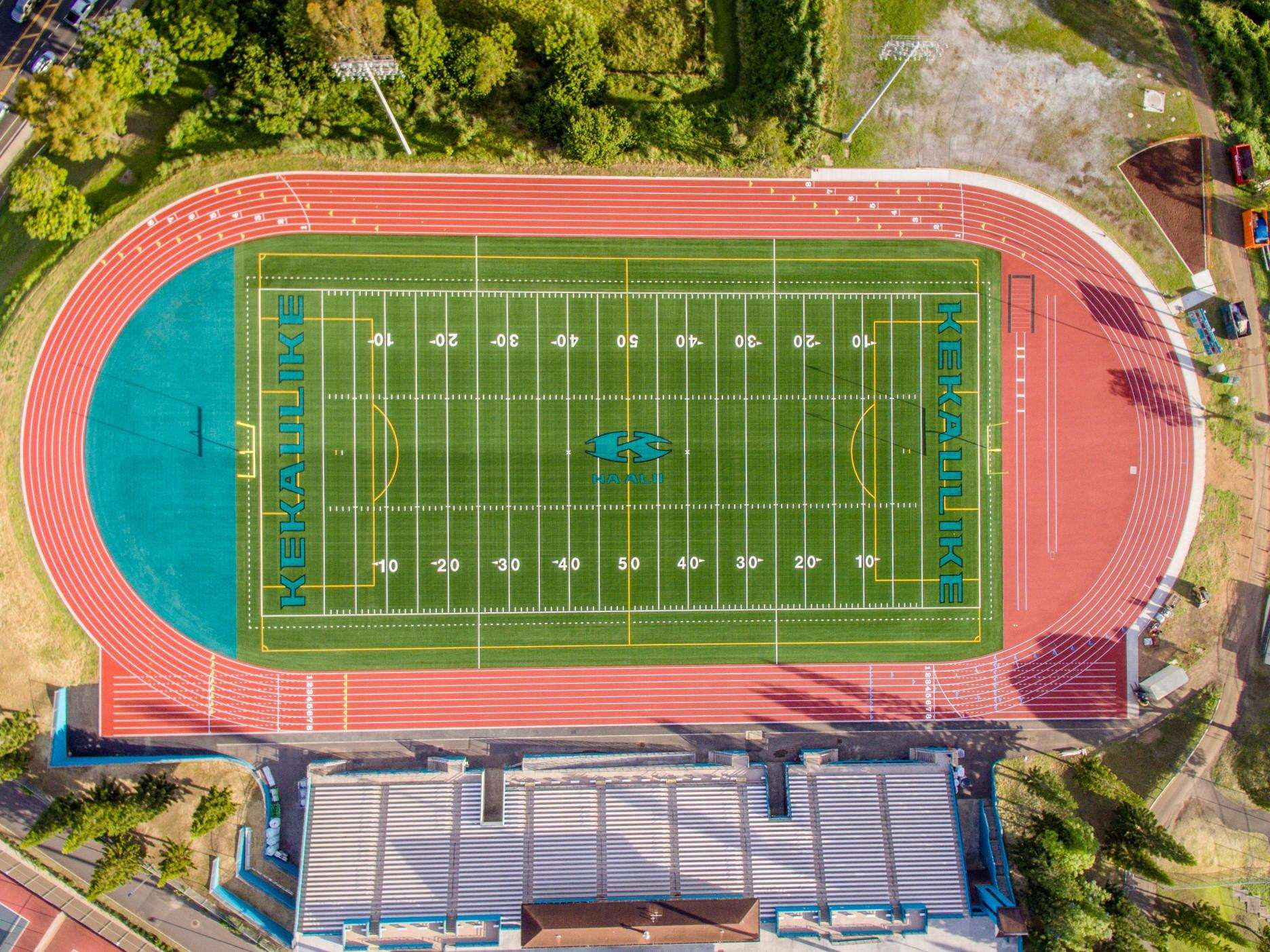 King Kekaulike High School - Synthetic Turf & Track