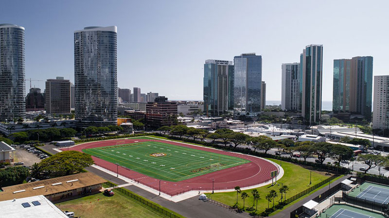 Farrington High School - Synthetic Turf & Track