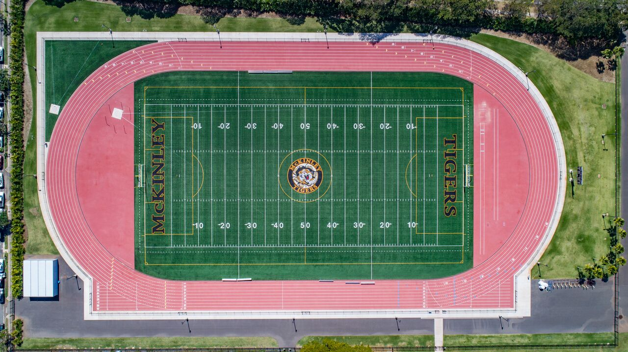 McKinley High School - Synthetic Turf & Track