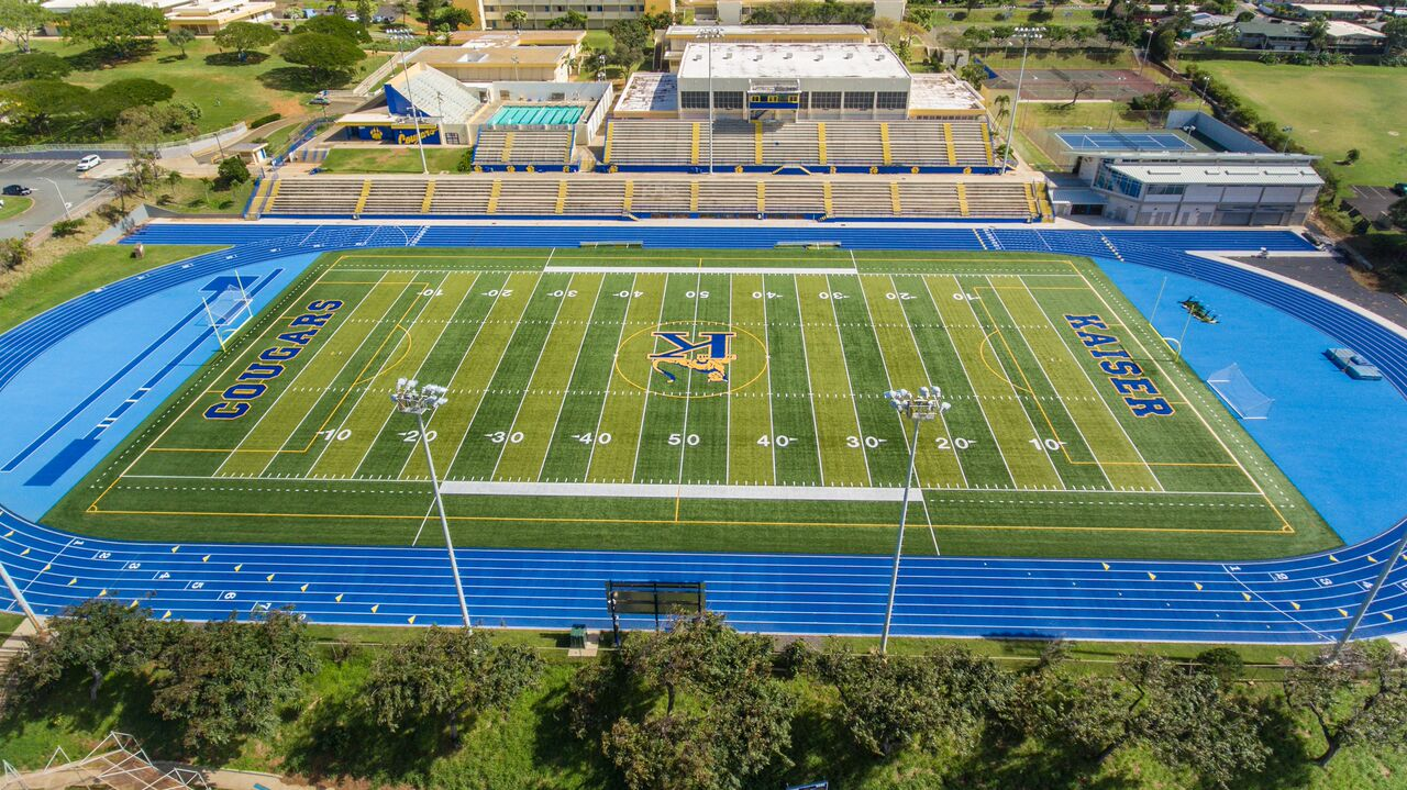 Kaiser High School - Synthetic Turf & Track