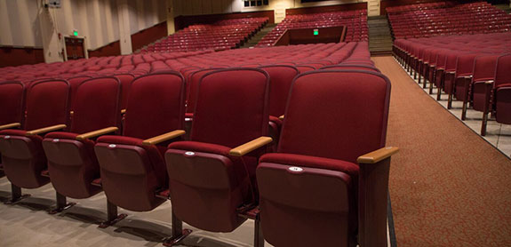 Hawaii Auditorium Style Seating