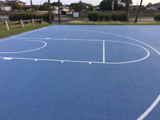 Kahului School Park - Outdoor Playcourts