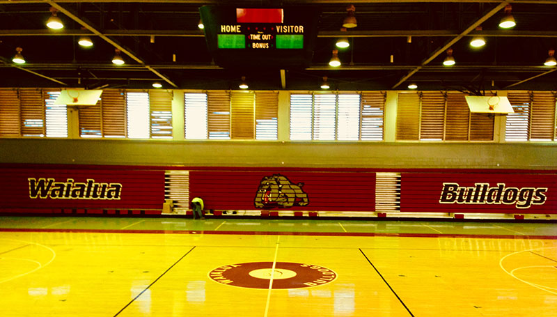 Waialua High School - Bleachers