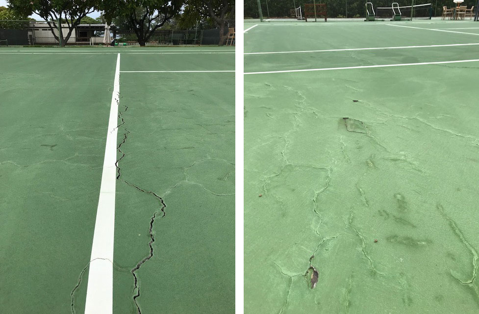 Mauna Kea Resort Resurfacing