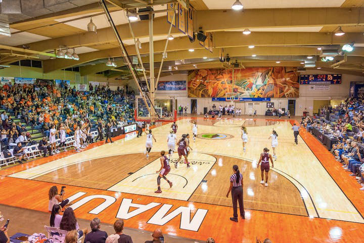 Lahaina Civic Center Refinishing of Main Gymnasium Floor