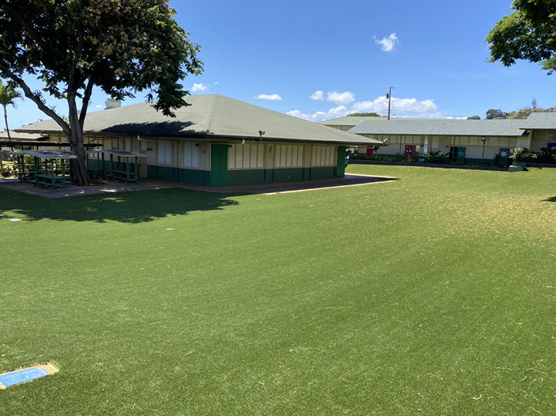 Maemae Elementary School-Courtyard Artificial Turf