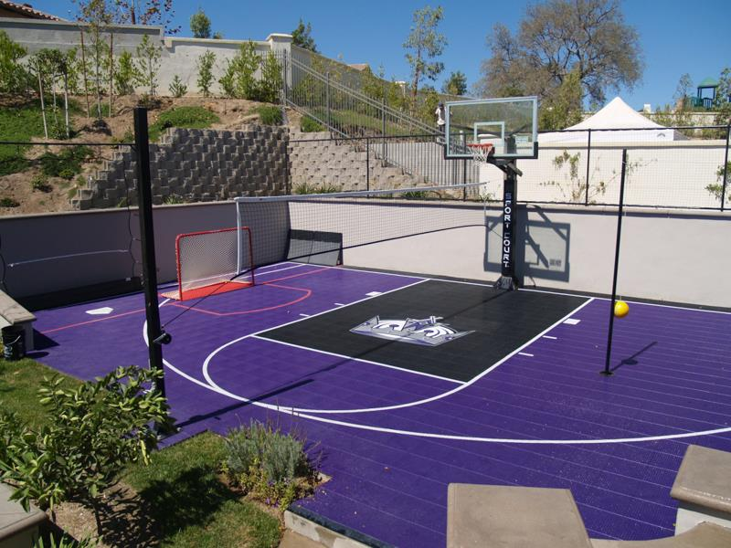 Sacramento Kings Sport Court Basketball Court
