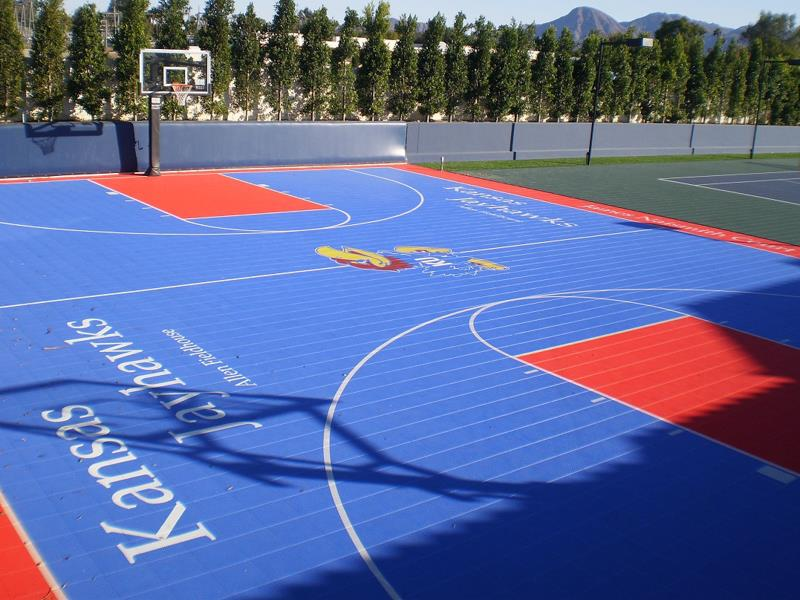 Kansas Jayhawks Basketball Court
