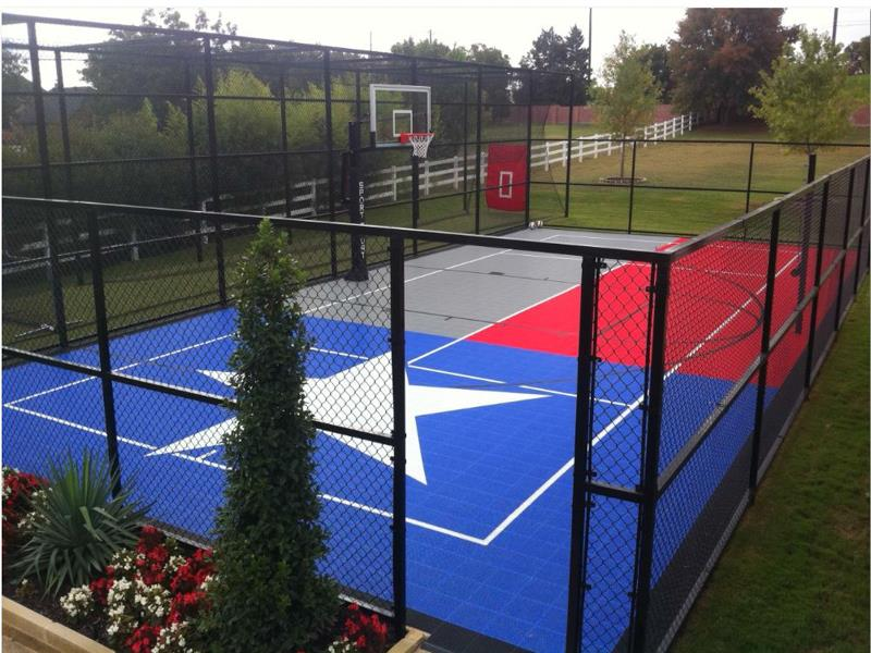 Texas Sport Court Game Court