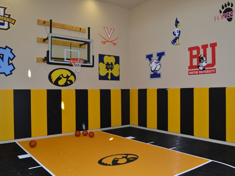 Iowa Hawkeyes Gym