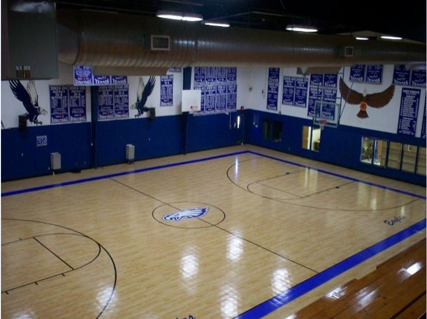 Storm Damaged Gym Saved by Sport Court