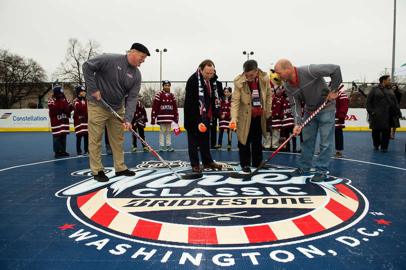 Sport Court Partners with NHL  on Winter Classic Legacy Initiative