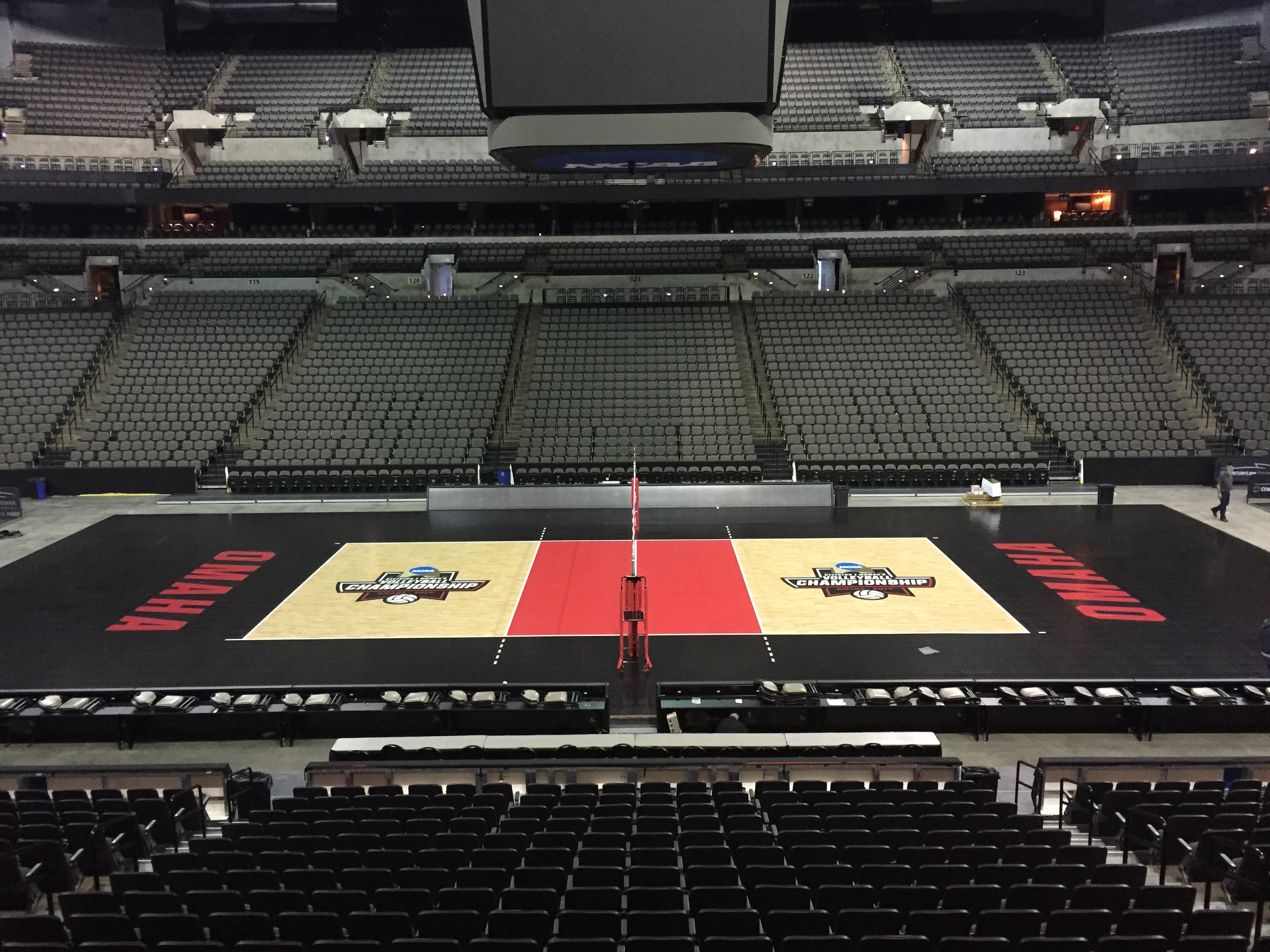 DI NCAA Volleyball Championship Sport Court